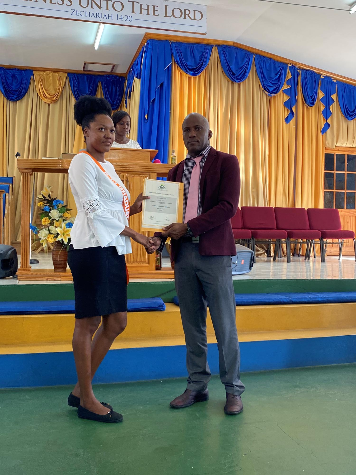 Kingstown Technical Institute Graduation Ceremony 2019-2020