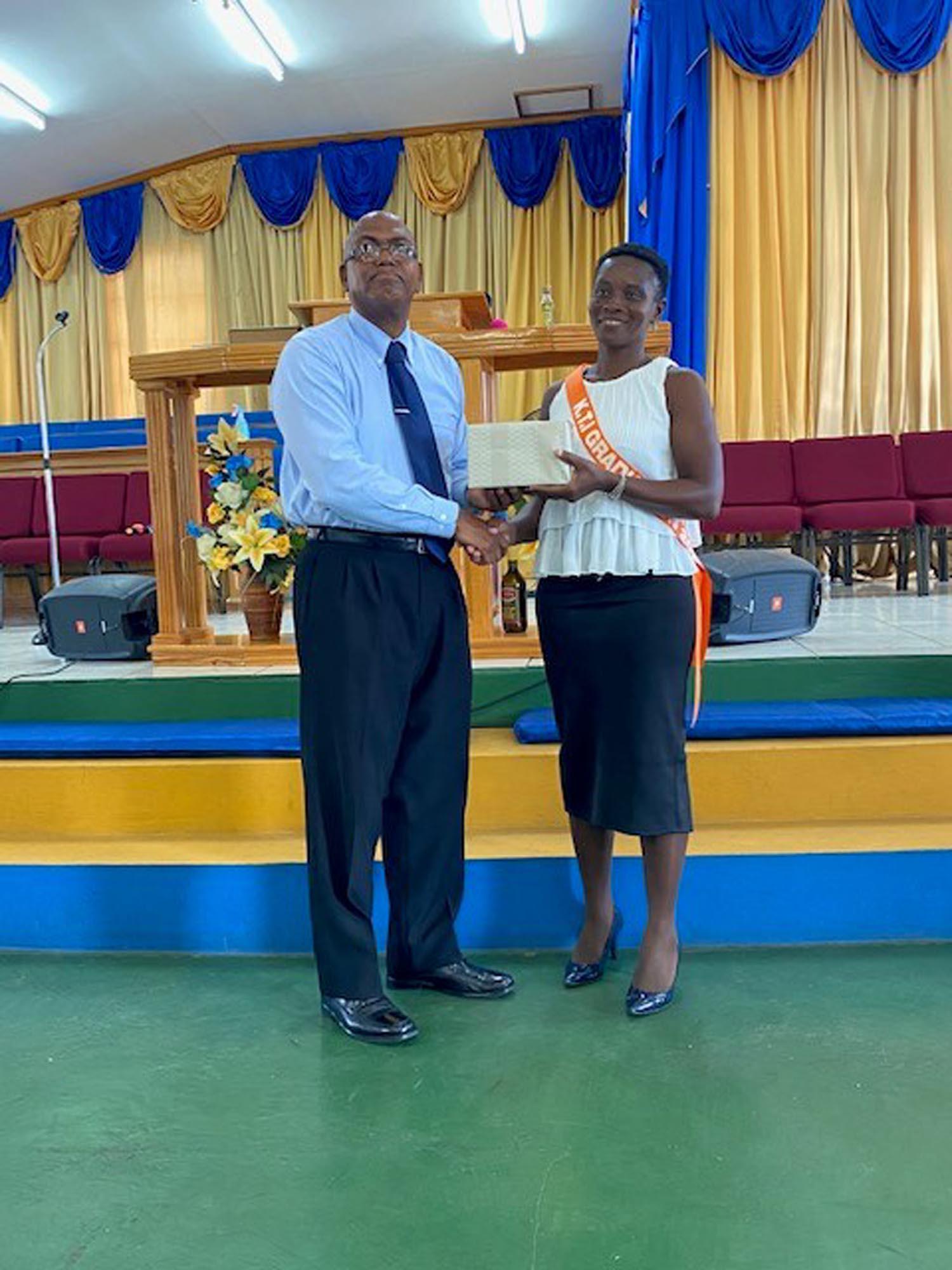 Principal's Award – Lisanne Matthews – MCF Awardee